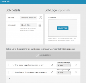 employer - create job